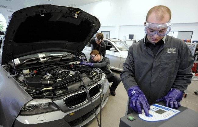 Ремонт BMW в СПб